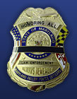 Fallen Officers Commemorative Badge