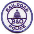 B & O Railroad Police
